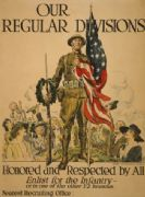 "American WW1 Poster ""Our regular divisions"""
